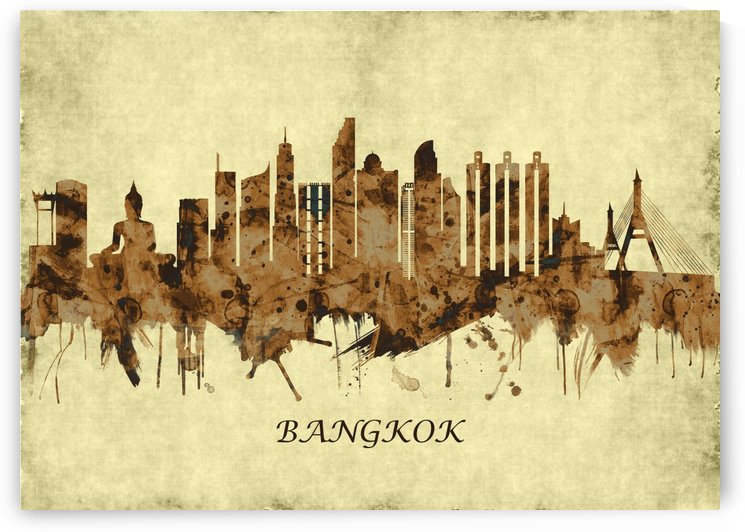 Bangkok Thailand Cityscape by Towseef