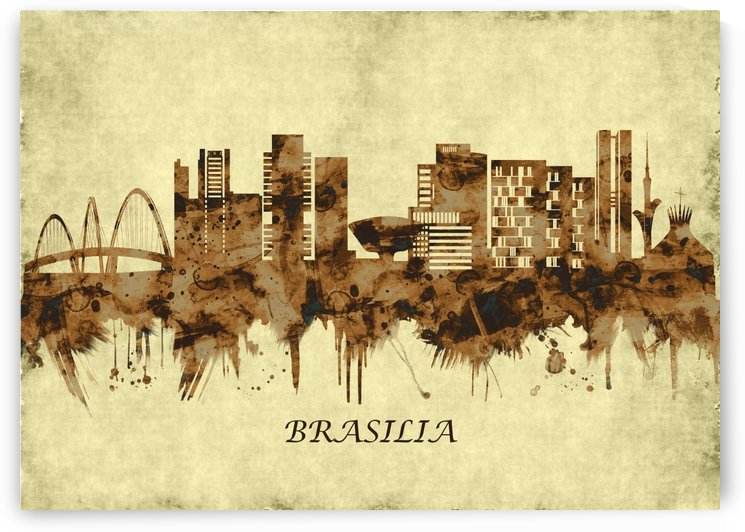 Brasilia Brazil Cityscape by Towseef