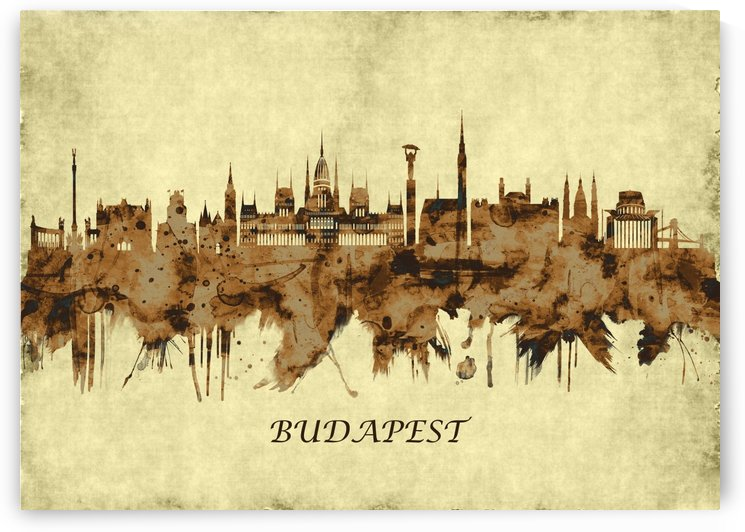Budapest Hungary Cityscape by Towseef