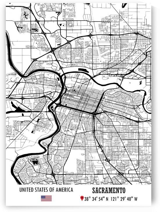 Sacramento USA by Artistic Paradigms