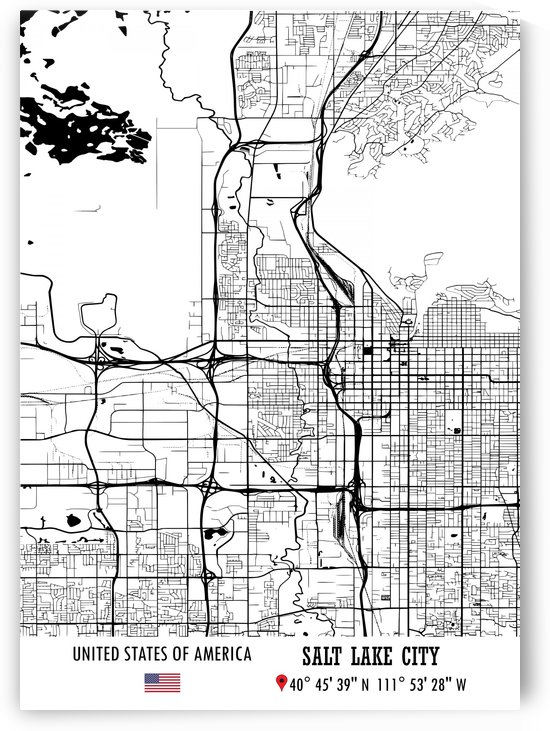 SALT LAKE CITY USA by Artistic Paradigms