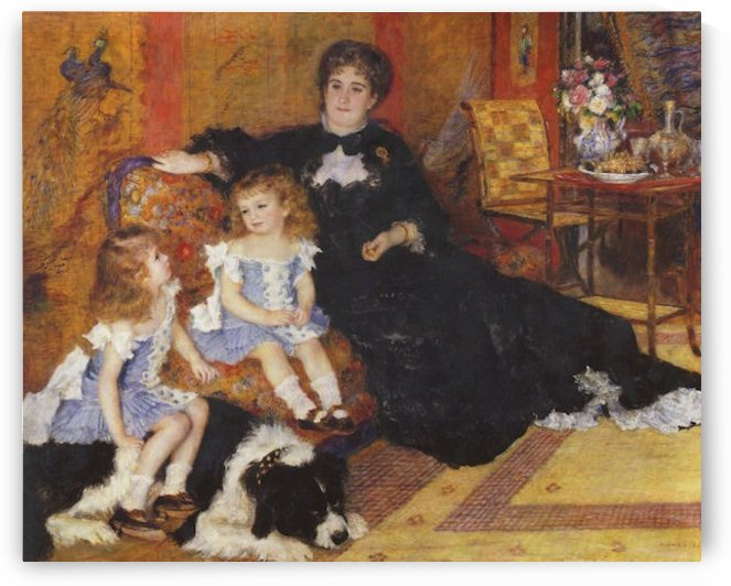 Madame Charpentier and her children by