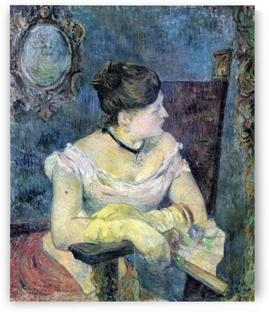 Madame Gauguin by Gauguin by Gauguin