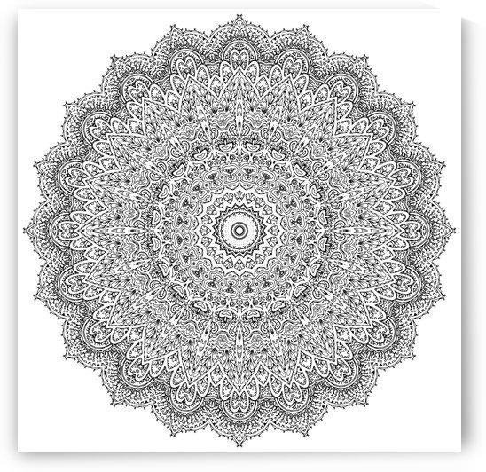 Mandala by Winston Mauricio Casco Sobalvarro