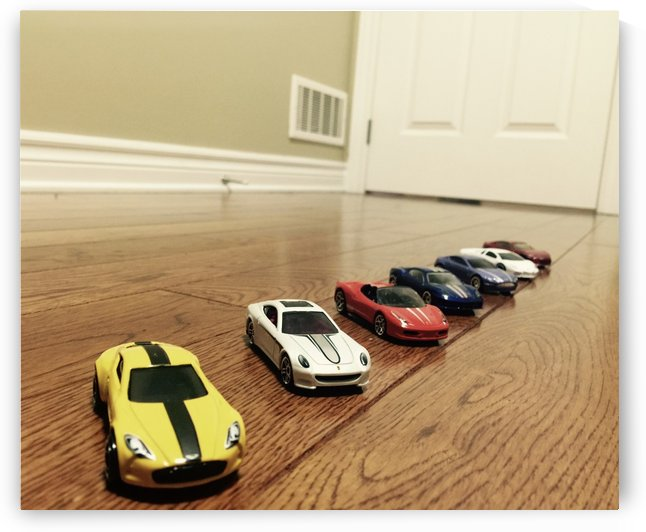 Toy Cars by jenna kandiah