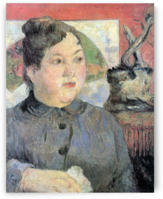 Madame Kohler by Gauguin by Gauguin