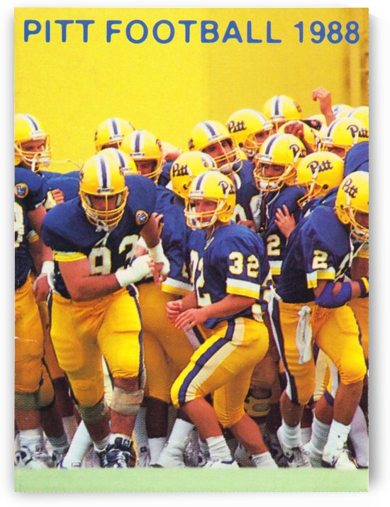 1988 Pitt Panthers Football by Row One Brand
