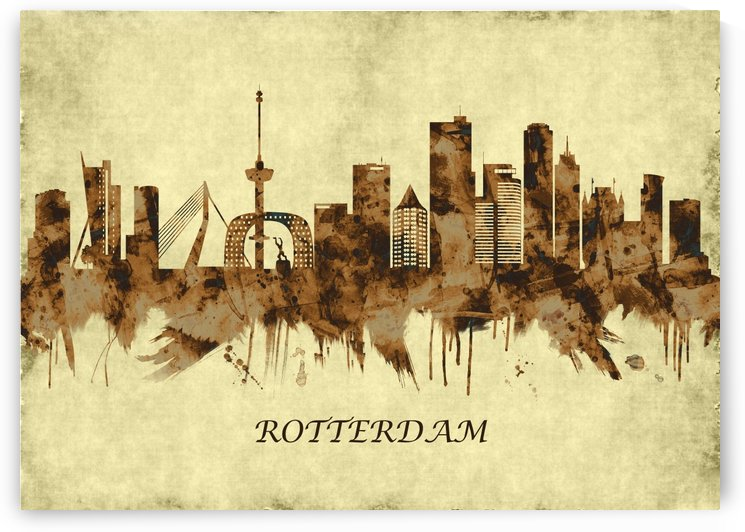 Rotterdam Netherlands Cityscape by Towseef Dar
