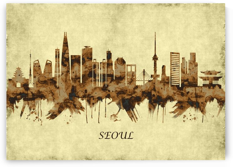 Seoul South Korea Cityscape by Towseef