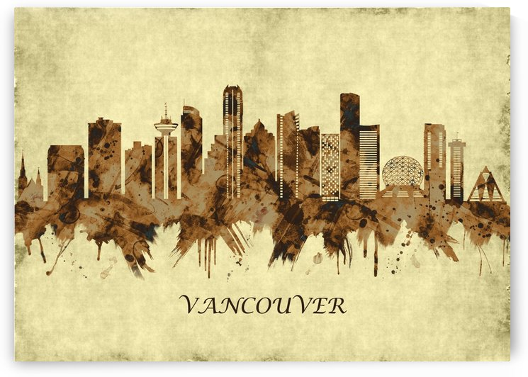 Vancouver Canada Cityscape by Towseef