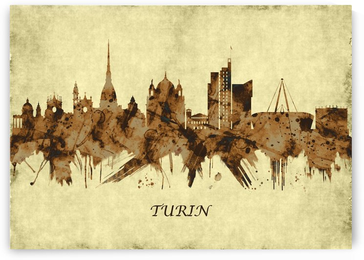 Turin Italy Cityscape by Towseef