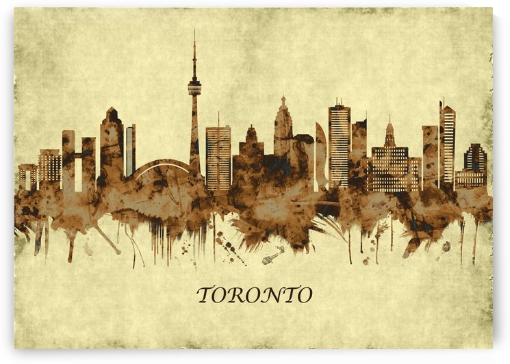 Toronto Canada Cityscape by Towseef