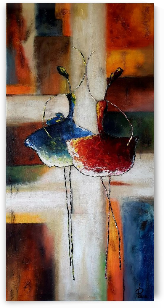 Abstract dancers by Iulia Paun ART Gallery