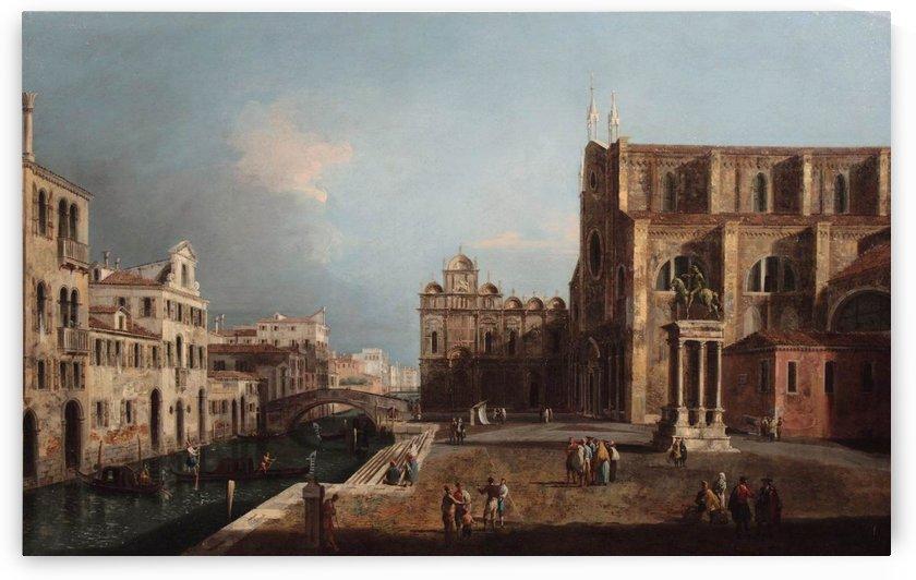 View of Campo SS. Giovanni e Paolo, Venice by Michele Marieschi