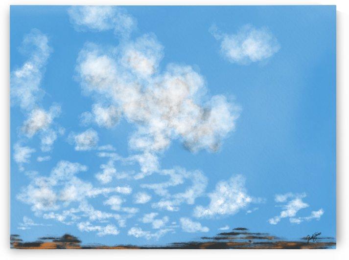Cloudy Mesa by Trish Sierer