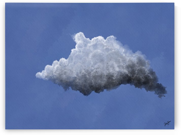 Puffy cloud by Trish Sierer