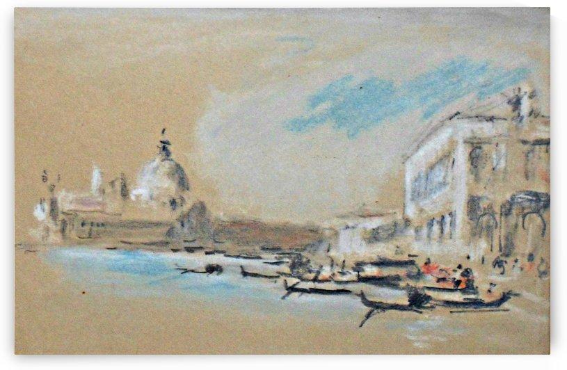 Santa Maria della Salute by Michele Marieschi
