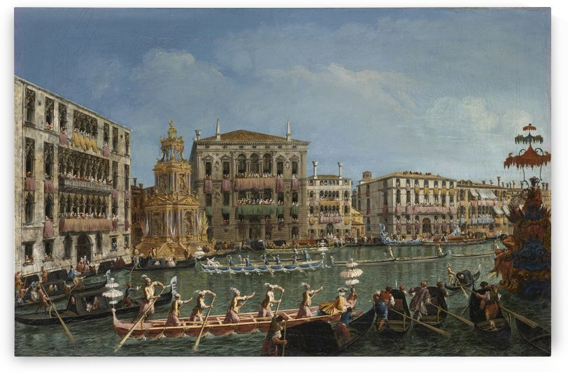 A Regatta on the Grand Canal by Michele Marieschi