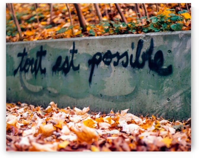 tout est possible by MumbleFoot