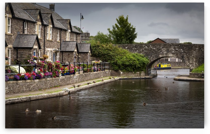 The Brecon Basin Canal by Leighton Collins