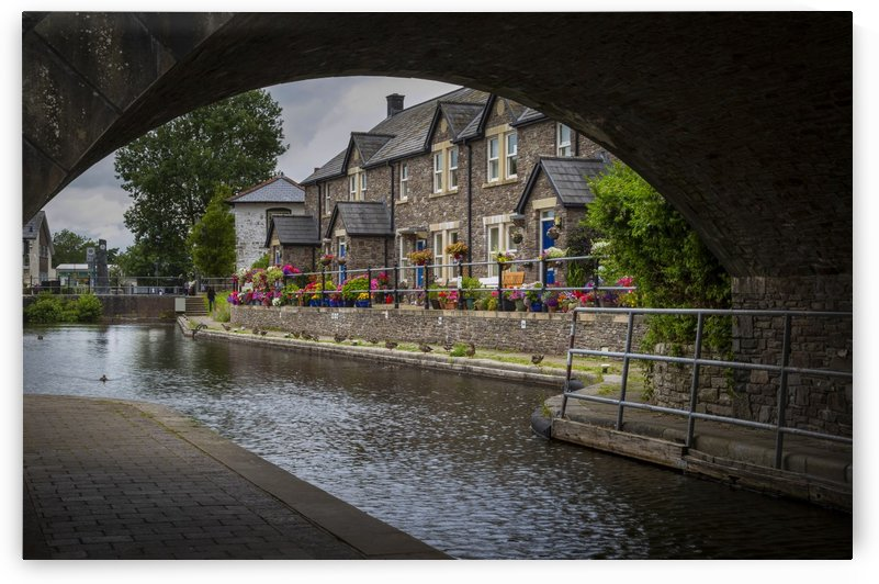 The Monmouthshire & Brecon Canal by Leighton Collins