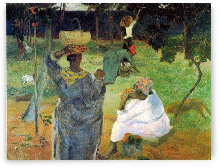 Mango Fruit by Gauguin by Gauguin