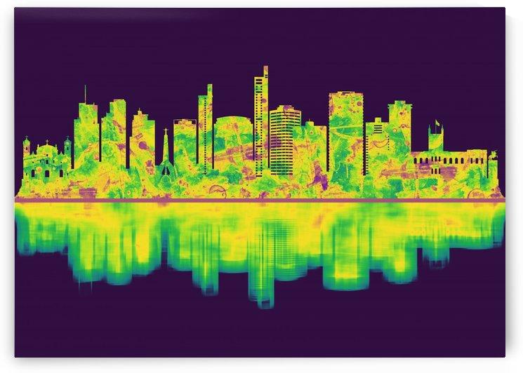 Asuncion Paraguay Skyline by Towseef Dar