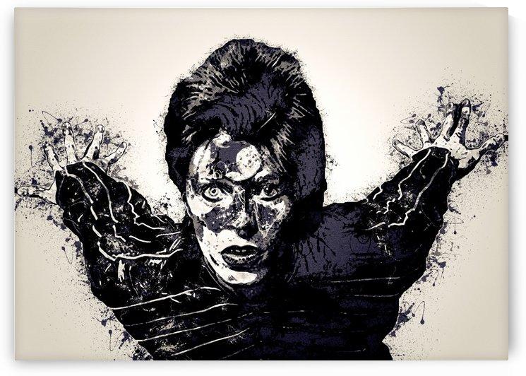 David Bowie English singer Vintage Collection 16 by RANGGA OZI