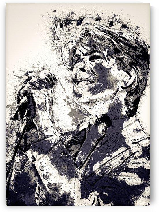 David Bowie English singer Vintage Collection by RANGGA OZI