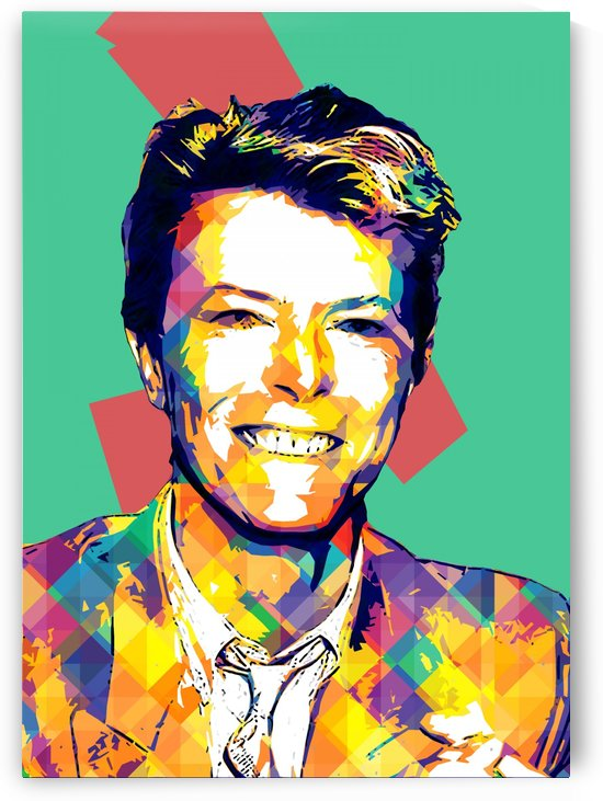 David Bowie POP ART Collection 16 by RANGGA OZI