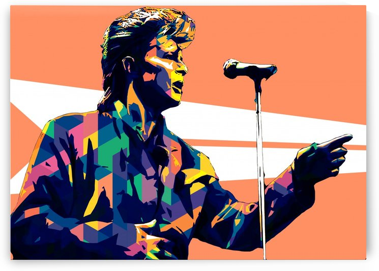David Bowie POP ART Collection 15 by RANGGA OZI