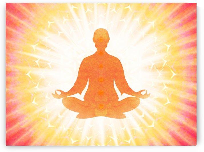 In Meditation - Be The Light by Dirk Czarnota