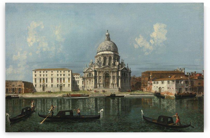 Santa Maria della Salute in Venice by Michele Marieschi