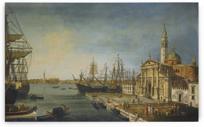 View of the Bacino Di San Marco from the Church and Island of San Giorgio Maggiore by Michele Marieschi
