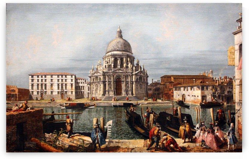 Church of Santa Maria in Venice by Michele Marieschi