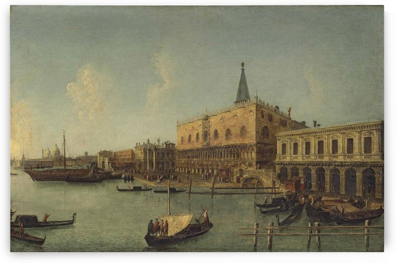 The Bacino di San Marco, Venice, with the Doge Palace by Michele Marieschi