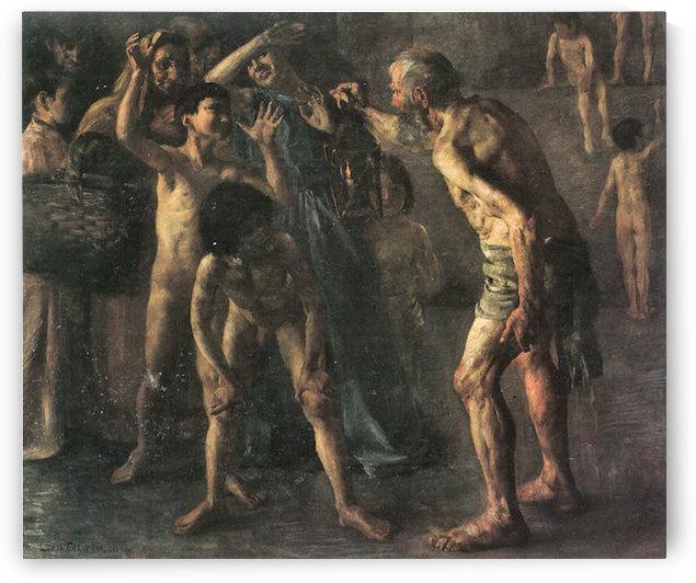 Diogenes by Lovis Corinth by Lovis Corinth