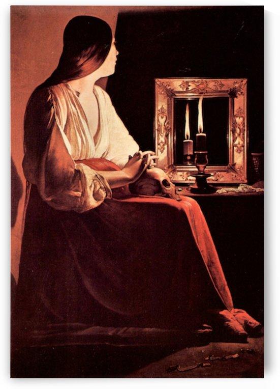 Mary Magdalene -3- by La Tour by La Tour