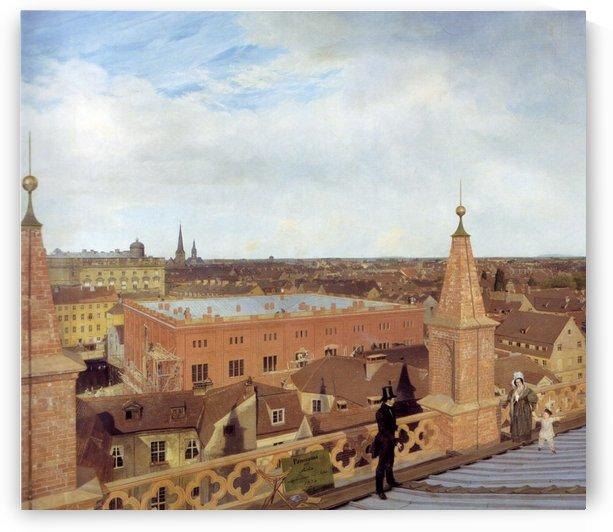 Panorama by Eduard Gaertner