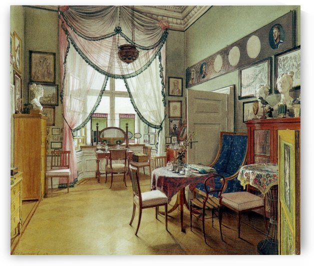 Zimmerbild 96 by Eduard Gaertner