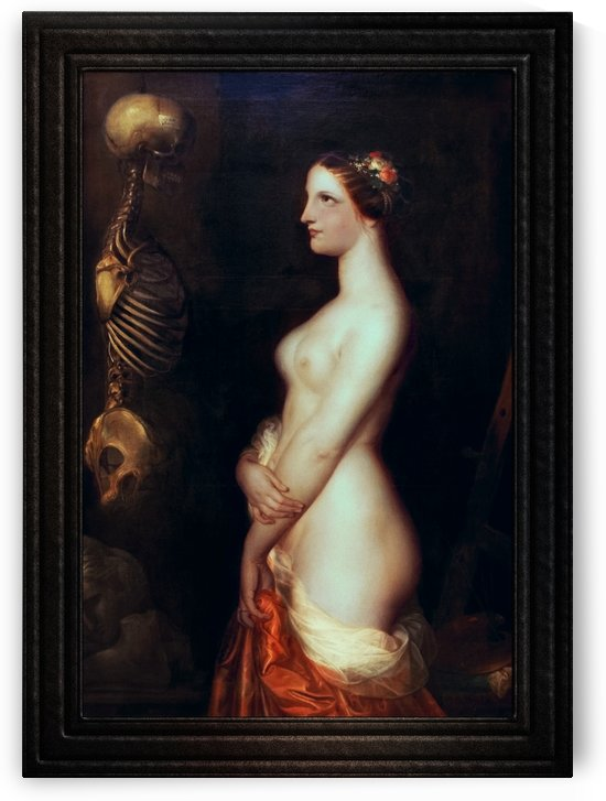 The Beautiful Rosine by Antoine Wiertz Fine Art Old Masters Reproduction by xzendor7