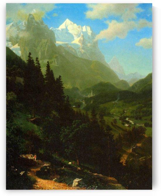 Matterhorn by Bierstadt by Bierstadt