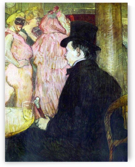 Maxim Dethomas by Toulouse-Lautrec by Toulouse-Lautrec