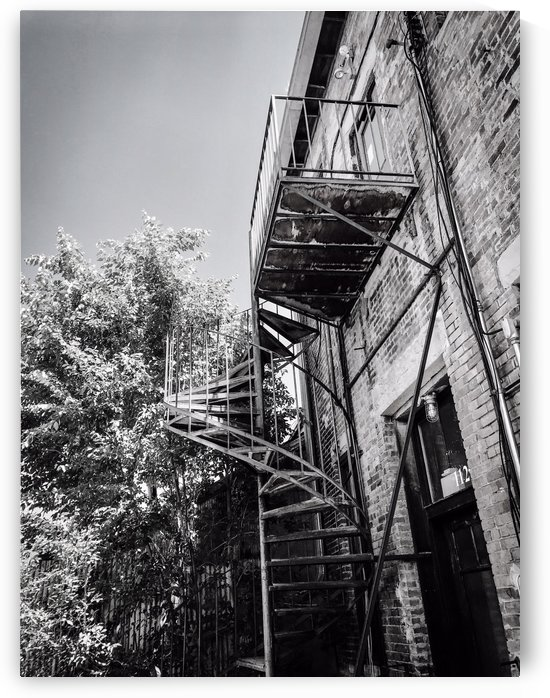 Stairs in Durango CO by Shay Morrow