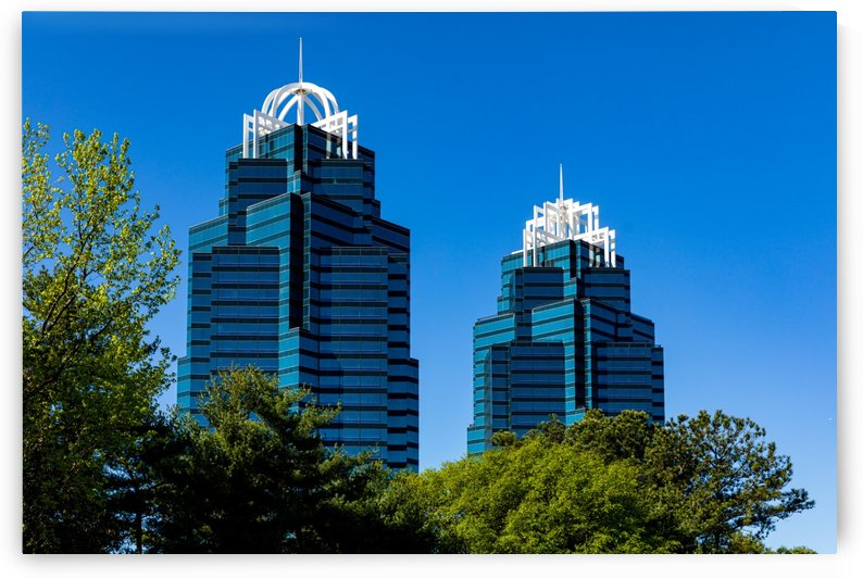 King and Queen Buildings   Atlanta GA 6686 by @ThePhotourist