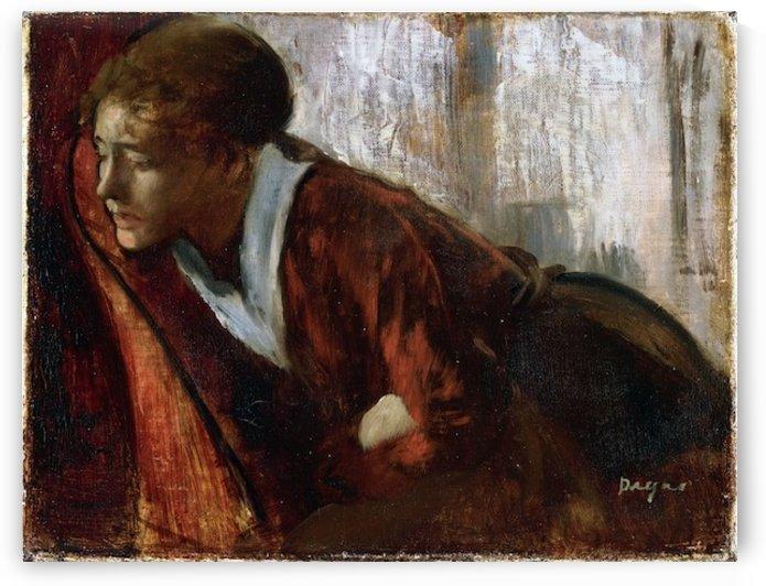 Melancholy by Degas by Degas