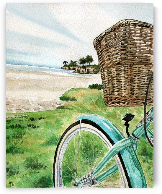 BeachCruiser by Drip Drop Watercolors