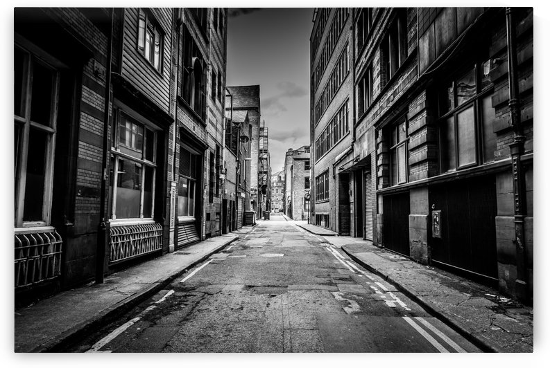 Manchester Streets by Artsy Lens Uk