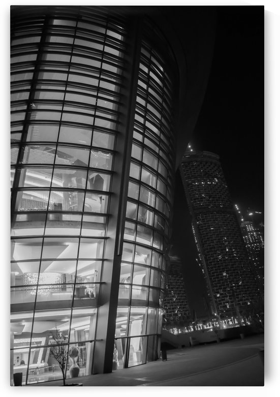 Dubai Opera House Black & White by Photopoet