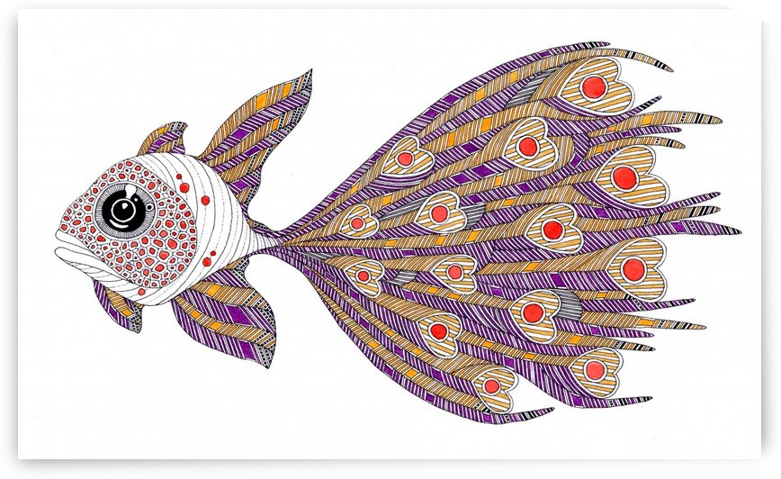 heart fish by federicocortese